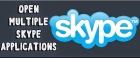 Open Multiple SKYPE Application