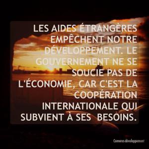 comores aide au développement