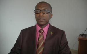 Le Vice Président Djae Ahamada Chanfi