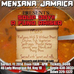 Mensana's fundraiser.