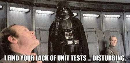 Vader and Unit Tests